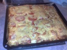 Zucchini-Pizza - Rezept