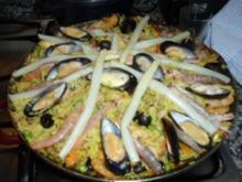 Paella para 12 Personas - Rezept