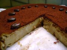 Kuchen: Käsekuchen Cafe´ Latte - Rezept