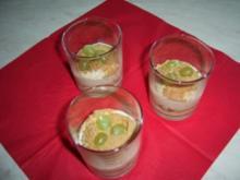 Amerettini-Traubencreme - Rezept