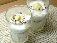 Joghurt-Ananas-Dessert - Rezept