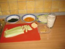 Gurken-Dillsuppe-fett aber lecker - Rezept