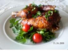 Salbei- Hähnchen - Rezept