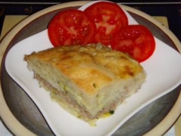 Rezept: kartoffel-hack auflauf m.kohlrabi
