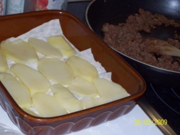 Gemüse-Hackfleisch-Feta-Auflauf - Rezept - Bild Nr. 7