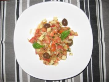 Sonniger Tomatensalat - Rezept