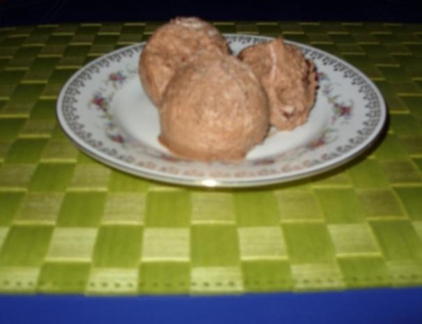 Joghurt-Sahne-Nougat-Eis - Rezept - Bild Nr. 5