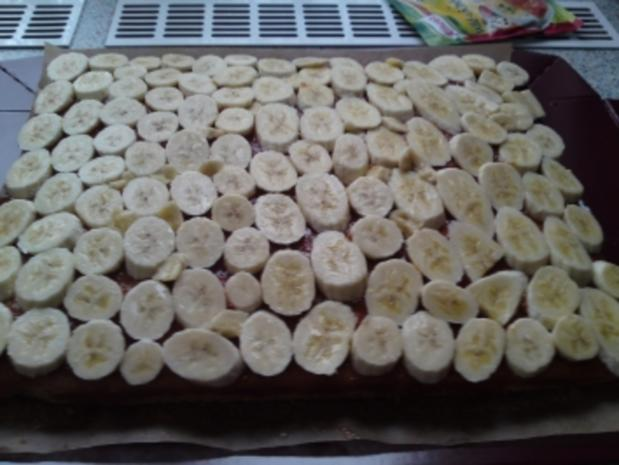 Bananen-Schoko-Schnitten - Rezept - Bild Nr. 10
