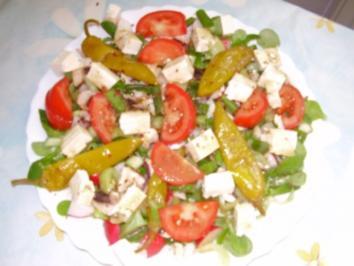 Salat leicht und lecker - Rezept