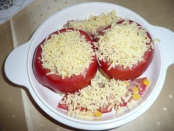 Überbackene Fleischtomaten - Rezept