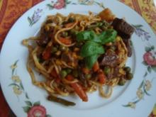*Hauptgericht Fleisch - Rindfleisch süss-sauer - Rezept