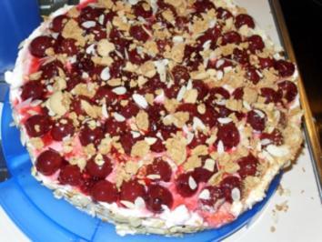 Amaretto-KIrsch-Torte - Rezept