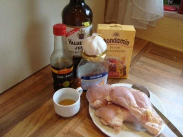 Z - schnelle Küche - Hähnchenkeule mit Honigglasur - Rezept - Bild Nr. 3