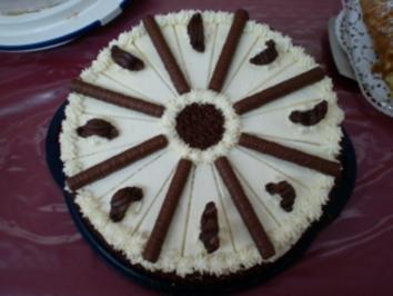 Bailys-Mascarpone Torte - Rezept