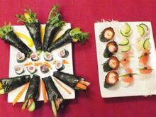 Sushi - verschiedene Variationen - Rezept