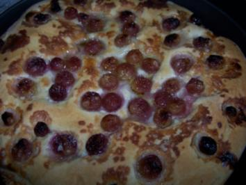 Brot mit Weintrauben - Rezept
