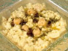 KICHERERBSEN - Hummus - Rezept