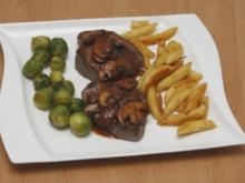 Champignonsoße für Rinderfilet - Rezept