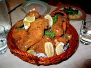 Paniertes Huhn mit Kürbiskernen - Rezept