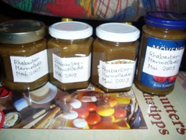 Marmelade: Rhabarbermus-Marmelade - Rezept - Bild Nr. 2