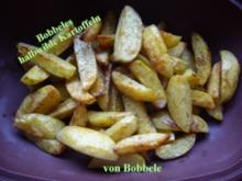 Beilage zum Grillen: Bobbeles halb wilde Kartoffeln - Rezept