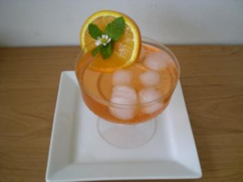 Rezept: Drinks & Cocktails : Aperol special