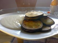 tolle Vorspeise mit Aubergine-, oder Zuccini - Rezept