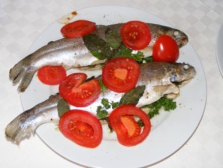Forelle aus dem Ofen - Rezept