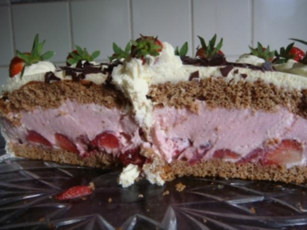 Torte: Erdbeer-Wein-Torte - Rezept - Bild Nr. 2