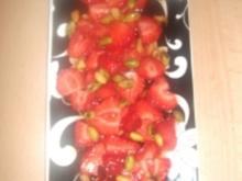 Erdbeersalat mit Krbiskernöl - Rezept