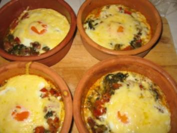 Spinat-Tomaten-Eier - Rezept - Bild Nr. 2