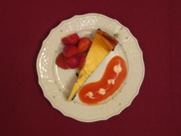 Mamma Tabachnick´s New York Cheese Cake mit Erdbeeren - Rezept