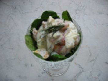 Bunter-Shrimps-Cocktail - Rezept