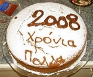 Rezept: Griechischer Neujahrskuchen-Vasilopita