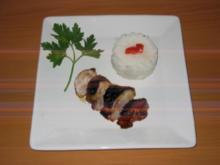 Hähnchen mit Teriyaki-Sauce - Rezept