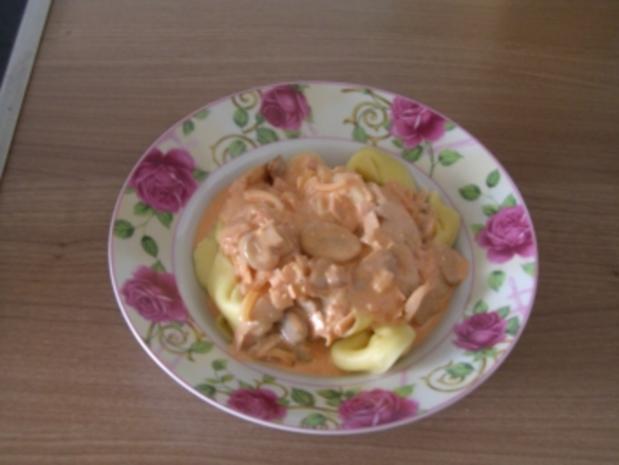 Sosse   -   Käse-Sahne-Sosse - Rezept