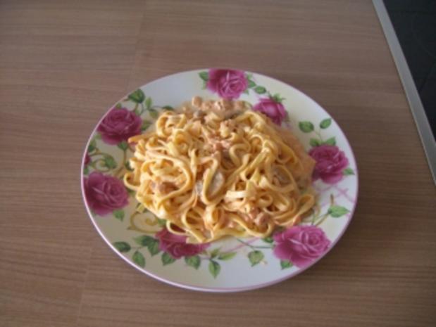 Sosse   -   Käse-Sahne-Sosse - Rezept - Bild Nr. 2