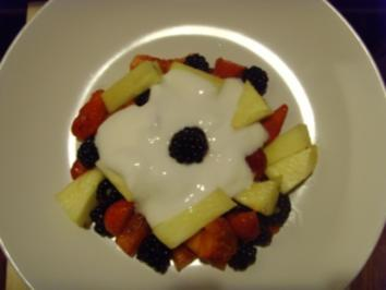 leichte joghurtcreme - Rezept