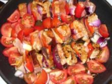 Schaschlik-Spieße mit Tomatensoße - Rezept