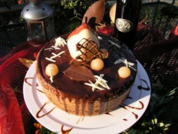 Rezept: Birnen- Schokoladen- Muffin XXL