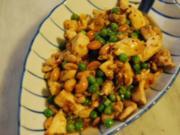 Pfannengerührtes Huhn mit Chilis und Erdnüssen - Rezept