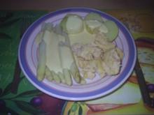 Vegetarisch - Spargel mit Rührei - Rezept