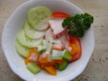 Salat zu Gegrilltem - Rezept