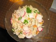 Spaghetti-Zitronen-Fleisch-Salat - Rezept