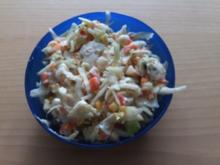 Krautsalat mit Putenbrust - Rezept