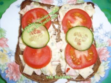 Salat: Leichter Sommersalat oder Brotaufstrich - Rezept