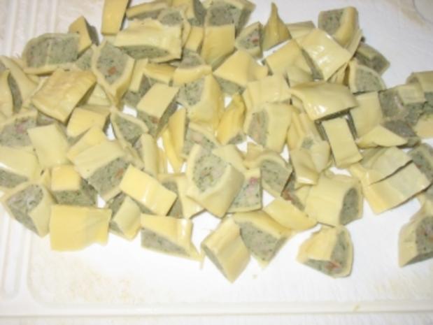 schwäbische geschmälzte maultaschen - Rezept - Bild Nr. 2