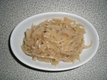 Omi's warmes Most Kraut - Rezept