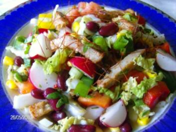 """Salat - """"Bunter Garten"""" - Rezept"""