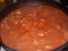 Huhn in Tomatensauce - Rezept